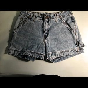 Vintage 90s Levi's mom high waisted jean shorts
